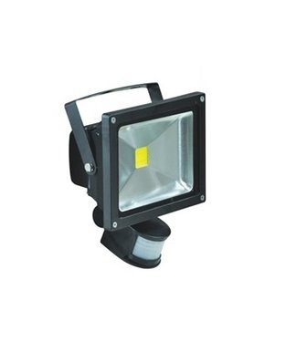 LED Bouwlamp Puur Wit - 50 Watt  - Sensor