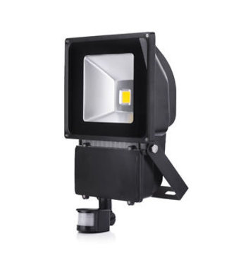 LED Bouwlamp Puur Wit - 100 Watt  - Sensor