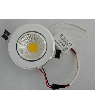 LED Spot Koel Wit - 9 Watt - Inbouw