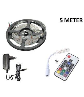 LED Strip RGB - 5 Meter - 60 LEDS Per Meter -Niet Waterdicht
