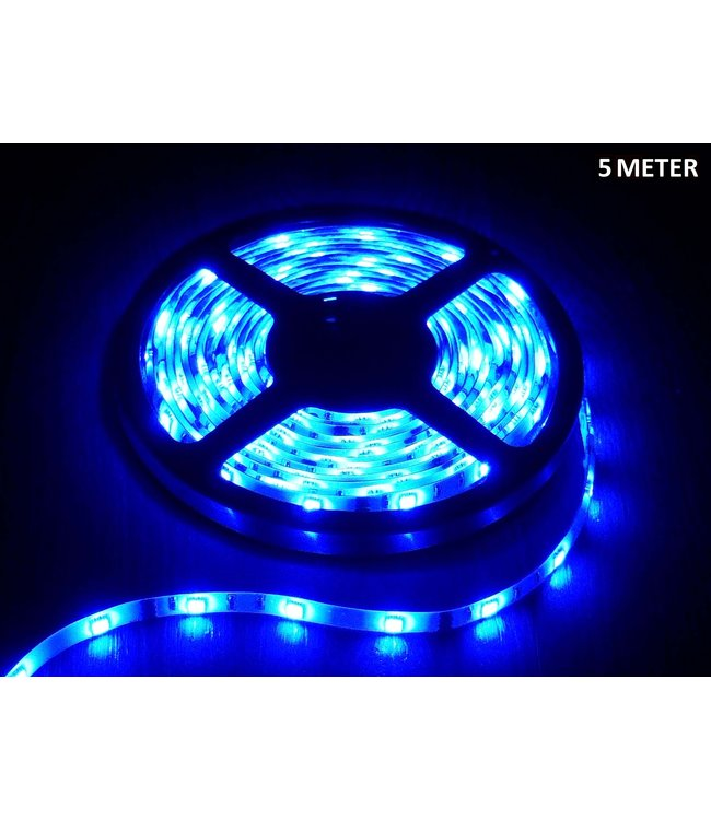 LED Strip Blauw - 4 Meter - 60 LEDS Per Meter - Waterdicht