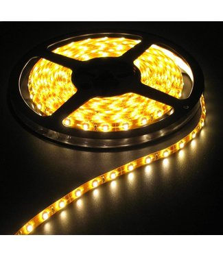 LED Strip Warm Wit - 5 Meter - 60 LEDS Per Meter - Waterdicht
