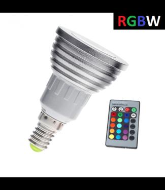 LED Spot RGB + Koel Wit - 5 Watt - E14