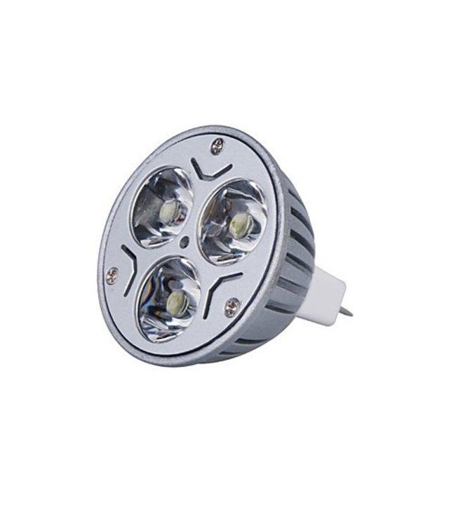 LED Spot Puur  Wit - 3 Watt - MR16