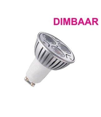 LED Spot Puur Wit - 6 Watt - GU10 - Dimbaar