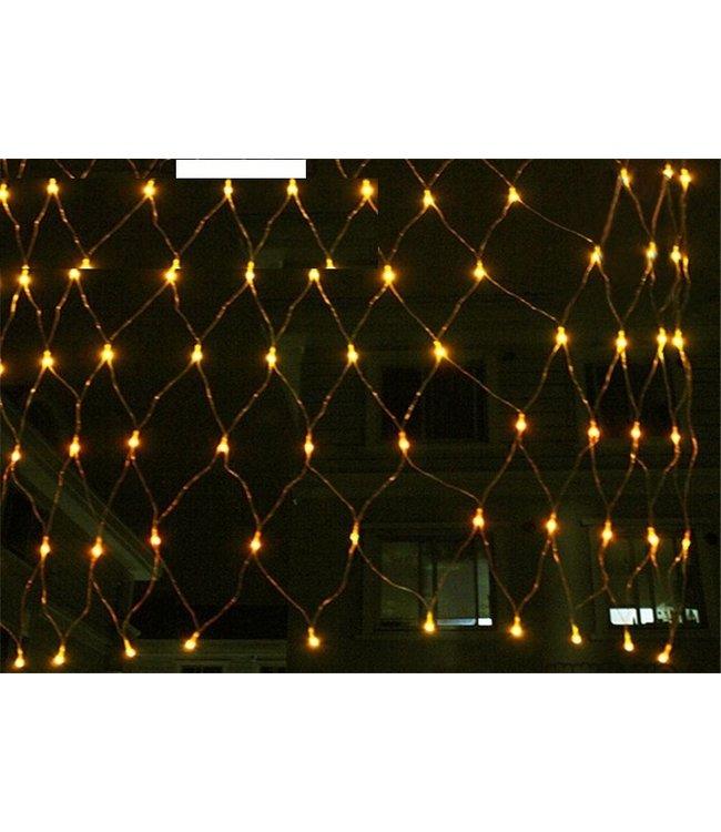 Kerstnet 4 x  6 Meter - Warm Wit