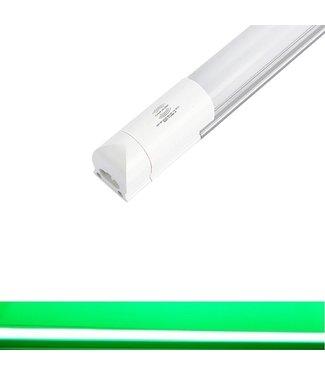 TL LED Buis Groen - Met bewegingssensor - 9 Watt - 60 cm - Met Armatuur