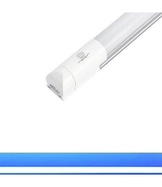 TL LED Buis Blauw - Met bewegingssensor - 18 Watt - 120 cm - Met Armatuur