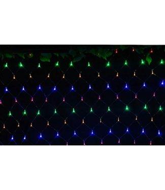 Kerstnet 4 x  6 Meter - RGB
