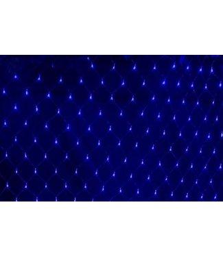 Kerstnet - 8 x 10 meter - Blauw