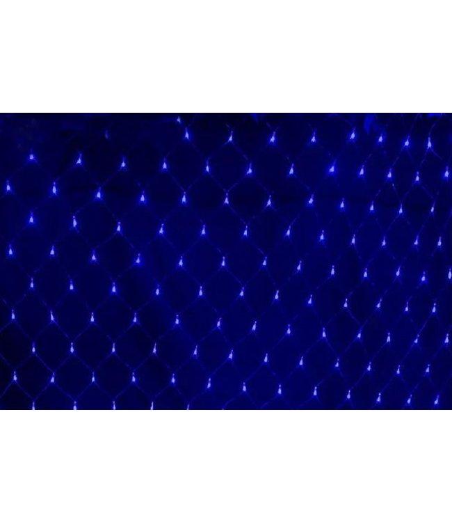 Kerstnet 8 x 10 Meter - Blauw