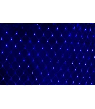 Kerstnet - 4 x  6 meter - Blauw