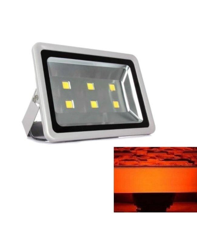 LED Bouwlamp Rood - 300 Watt