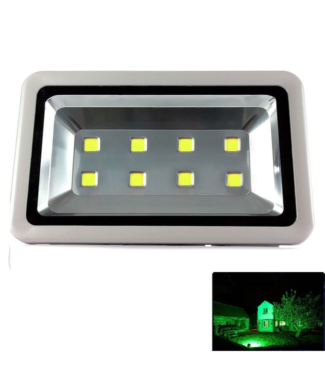 LED Bouwlamp Groen - 400 Watt