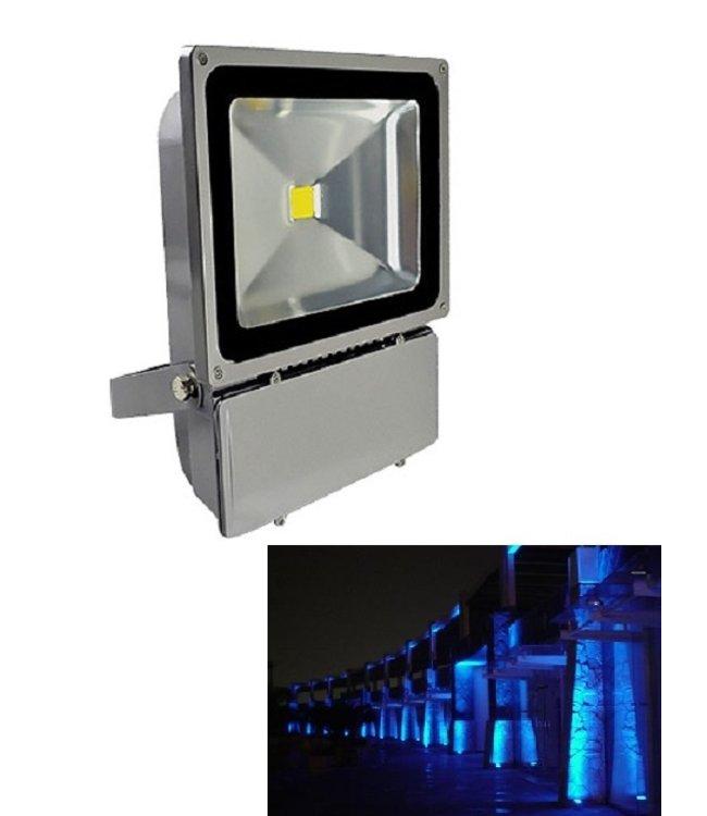 LED Bouwlamp Blauw - 100 Watt
