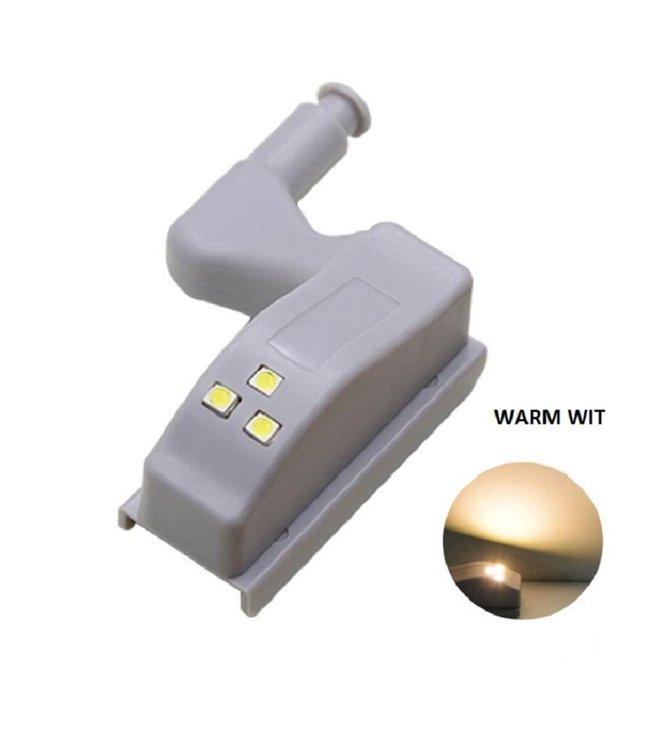 Automatische - LED - Scharnierverlichting - Kast Verlichting - Warm Wit
