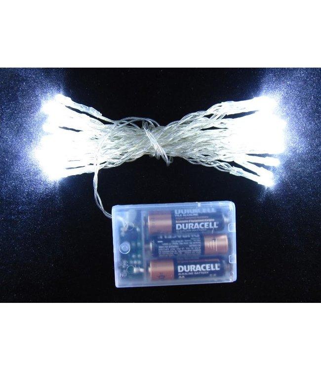 Kerstverlichting 5 Meter - Koel Wit - Op Batterij