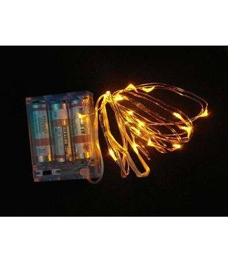 Kerstverlichting 5 Meter - Warm Wit - Op Batterij