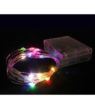 Kerstverlichting 10 Meter - RGB - Op Batterij