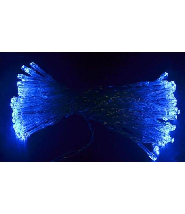Kerstverlichting 10 Meter - Blauw - Op Batterij