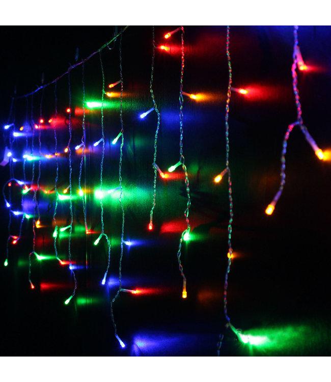 Kerst Gordijn 4 Meter - RGB