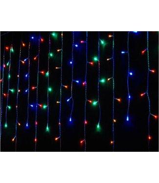 Kerst Gordijn 3.5 x 1.0 Meter - RGB