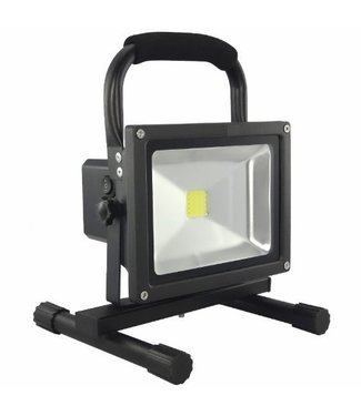 LED Bouwlamp - 20 Watt  - Oplaadbaar - Werktijd 8 Uur -  Warm Wit