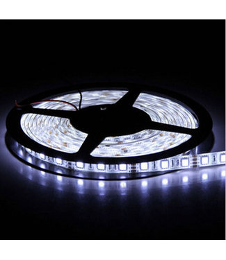 LED Strip Puur Wit - 5 Meter - 60 LEDS Per Meter - Waterdicht