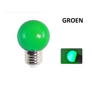 LED Bollamp E27 - 2 Watt - Groen