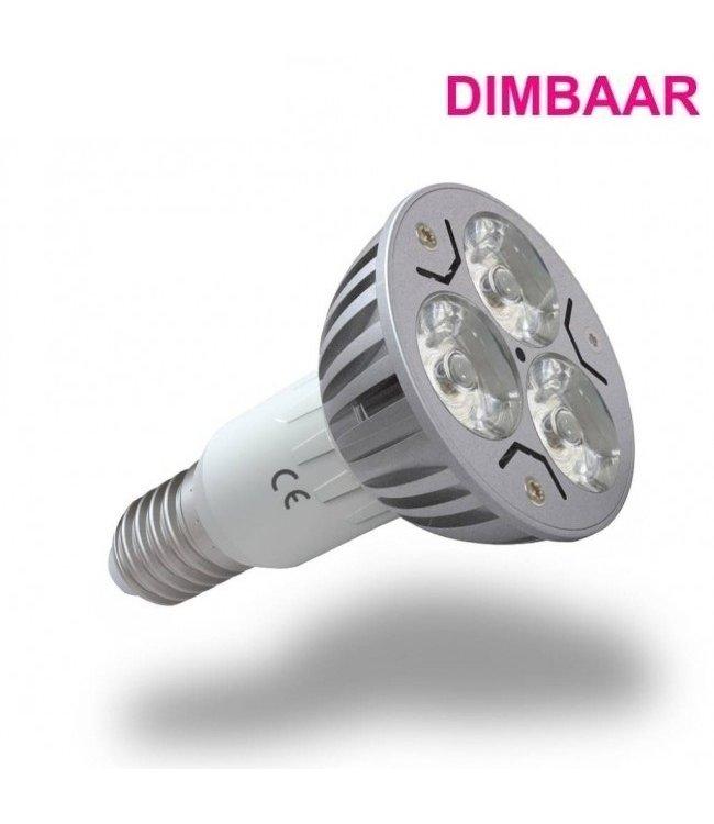 LED Spot Warm Wit - 3 Watt - E14 - Dimbaar