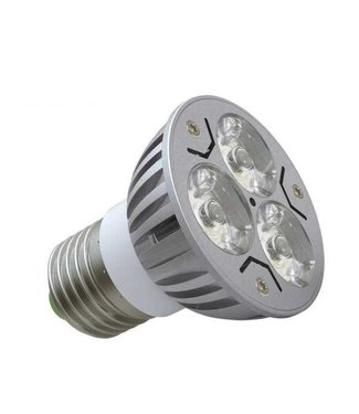 LED Spot Puur  Wit - 3 Watt - E27