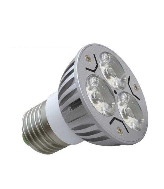 LED Spot Puur  Wit - 3 Watt - E27