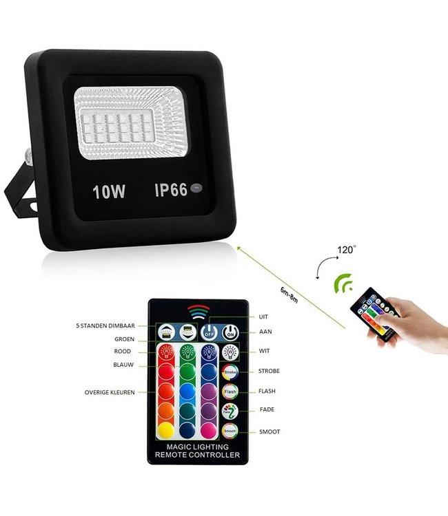 LED Bouwlamp RGB - 10 Watt - Ultra Dun