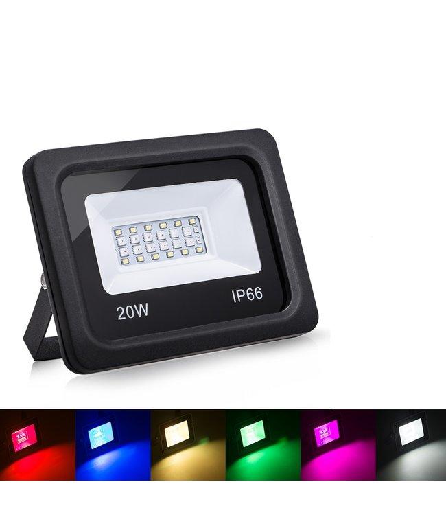 LED Bouwlamp RGB - 20 Watt - Ultra Dun