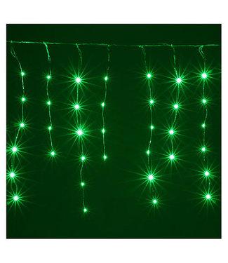 Kerst Gordijn 4 Meter - Groen