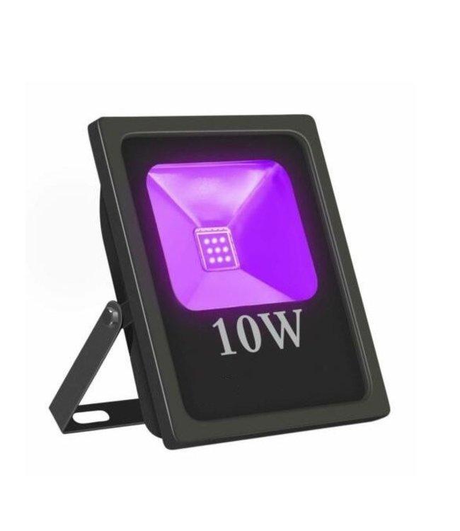 LED Bouwlamp Blacklight  - 10 Watt - Plat