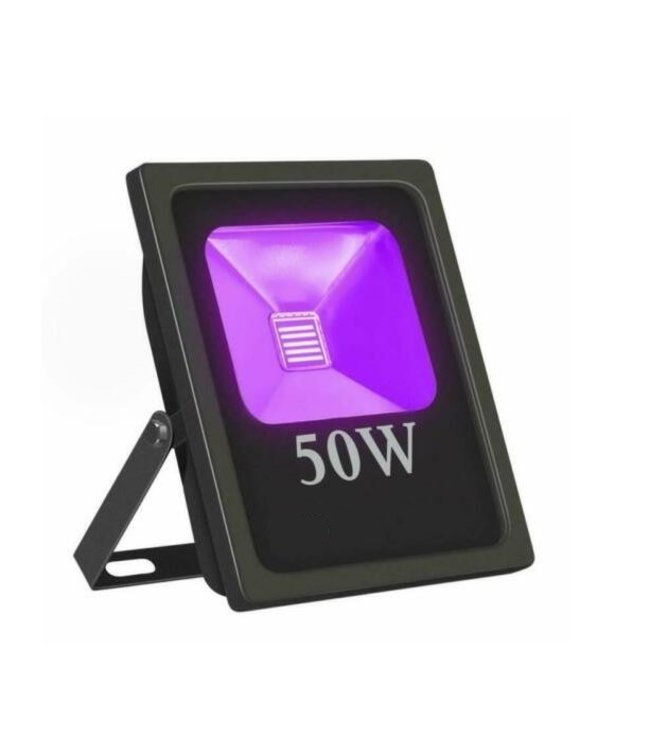 LED Bouwlamp Blacklight  - 50 Watt - Plat