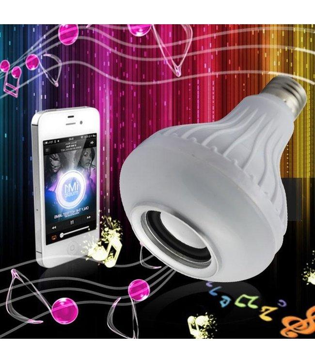 Discolamp - RGB - E27 - Bleutooth Speaker