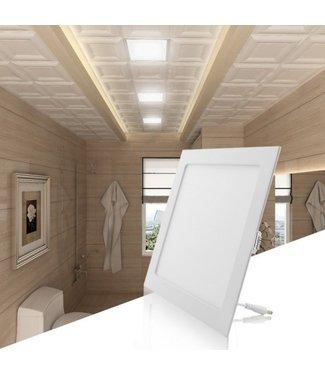 LED Paneel Vierkant Inbouw - 6 Watt - Puur Wit