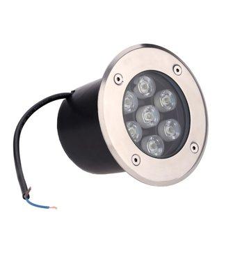 LED Grondspot  Koel Wit - 7 Watt - Inbouw - 230 Volt