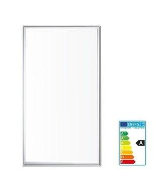 LED Paneel  Inbouw 120 x 60 cm - 72 Watt - Puur Wit