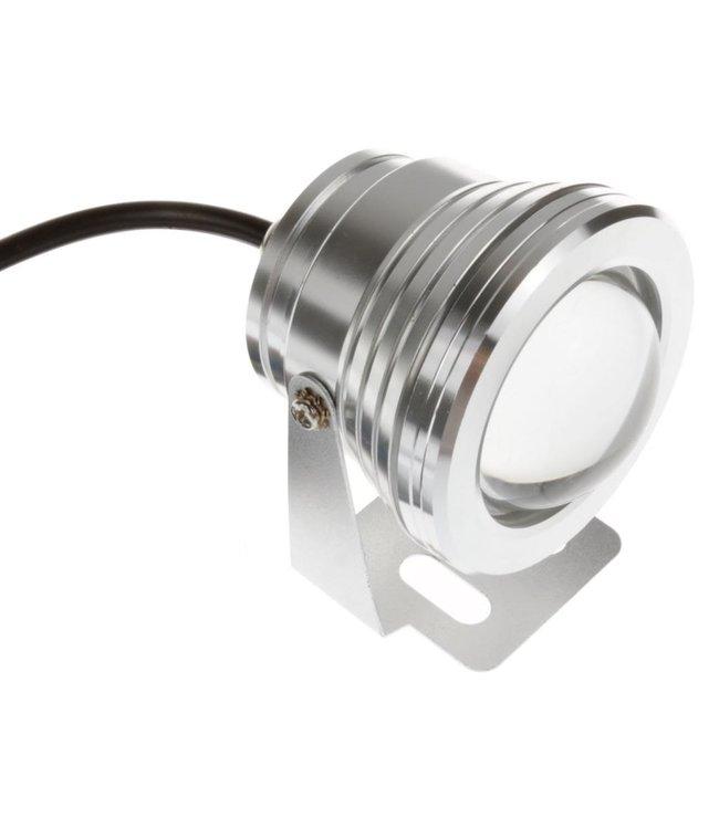 LED Bouwlamp Puur Wit - 10 Watt - Rond - 12 Volt