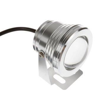 LED Bouwlamp Puur Wit - 10 Watt - Rond - 230 Volt