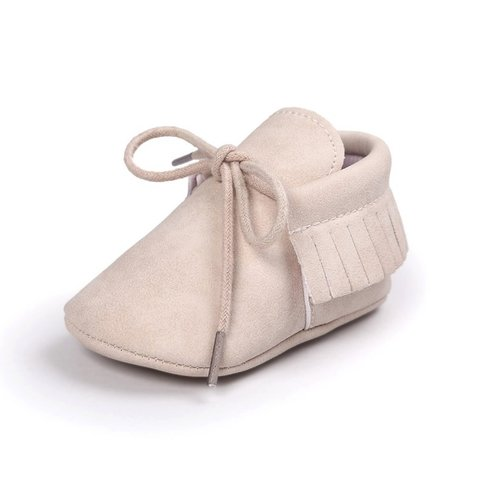 This Cuteness Baby Mocassins Leather Old Pink