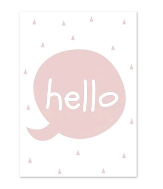 This Cuteness Canvas Poster Hello