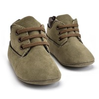 Baby Boots Timber Green