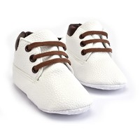 Baby Boots Timber White