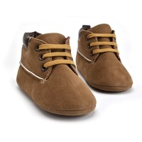 Baby Boots Timber Brown