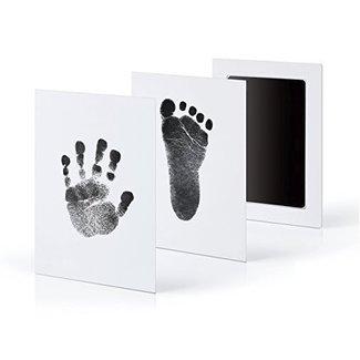 This Cuteness Baby Hand- en Voetafdruk Inkt Set Zwart