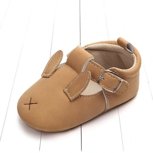 This Cuteness Baby Shoes Ocher Bunny